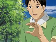 Takeshi explica horno arroz