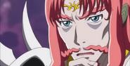 Mephisto pensando si Siren es una Pretty Cure