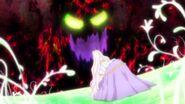 Teatine luchando contra el Rey Byougen