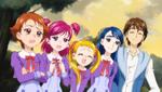 YPC516 Girls watch Nuts Komachi