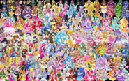 159 Pretty Cure Warriors with Fairies