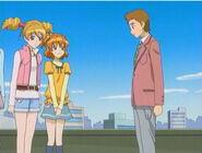 Daisuke preguntando a Love sobre su respuesta