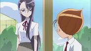 Hideo le dice a Yuri que seguira esforzándose