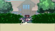 Erika se dispone a correr