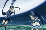 Dark Aqua v.s. Cure Aqua