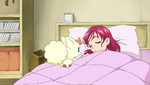 Coco waking up Nozomi