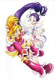 Futago Kamikita All Precure Illustration Splash Star 1