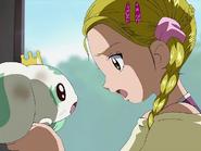 Hikari se enfada con porun