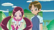Tsubomi intercediendo por Hayashi