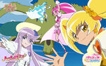Heartcatch Pretty Cure!! Wallpaper of the four Cures