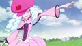 Hosshiwa diciendo que preocuparse por si mismo es lo mas importante, y le ordena a el Saiark que acabe con las Pretty Cure