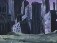 Ciudad destruida ilkubo