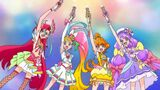 Viva! Spark! Cures holding their Heart Rouge Rods