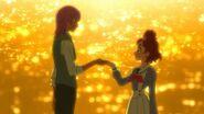 125. Kanata y Haruka al final del episodio