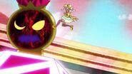 Sparkle intenta pelear contra el Megabyougen