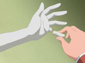 Nagisa dedo estatua