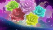 Explosion rosa arcoiris