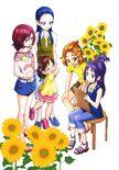 Futago Kamikita All Precure Illustration Splash Star 6