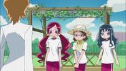 Itsuki le pide al club de jardinería hacer unas cortinas verdes para la escuela