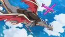 Melan flying along the Cures