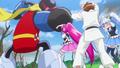 Megumi salva a sus amigos