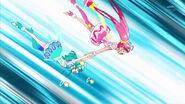 STPC3.72-Star sostiene a Milky mientras ella realiza la Descarga Lactea