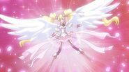 Cure Peach Angel Finishing Pose