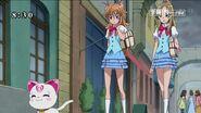 Hummy feliz de que Ellen se convirtiese en Pretty Cure
