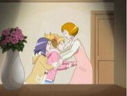 Love y Setsuna en casa