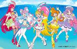 Tropical-Rouge! Pretty Cure Studio Mario visual