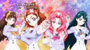 81. Haruka y las demas a punto de tansformarse
