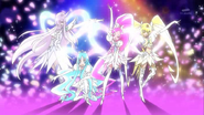 Pretty cure super silhouette