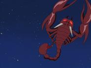 Constelación escorpion zakenna
