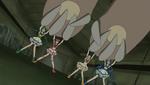 The girls pushing the Kowaina up