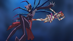 YPC522 Rouge kicks Arachnea