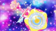STPC3.75-La Pluma Princesa de Tauro insertada en el Colgante Color Estelar