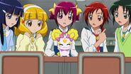 Candy apareciendo repentinamente en clase