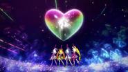Lanzamiento fuerte flecha amorosa