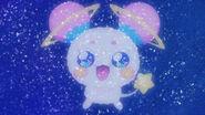 STPC1.03-Hikaru imaginando a Fuwa como una constelación