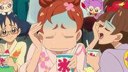 Haruka con el cerebro congelado