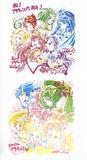 Yes! Pretty Cure 5 GoGo! & Smile Pretty Cure! 15th Anniversary visuals