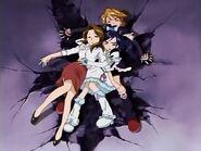 Black y White salvando a Yoshimi