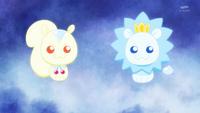 KKPCALM35-Crystal animals ready for battle
