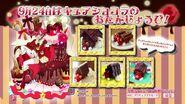 Cartel cumpleaños de Chocolat