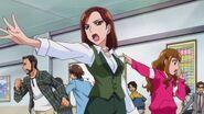 Haruna y tamaki evacuando