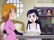Honoka enfadada nagisa no cocina