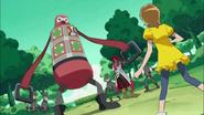 Itsuki se encuentra con Kumojaki y el Desertrian