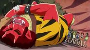 Akaoni riendose de la pesima suerte de Miyuki