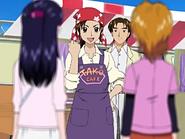 Akane explica porque monto el puesto