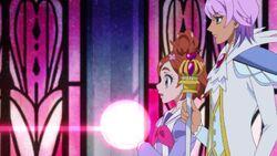 Haruka and Kanata arrive at the Princess Castle.jpg